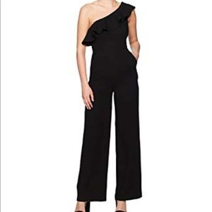BCBG one shoulder jumpsuit